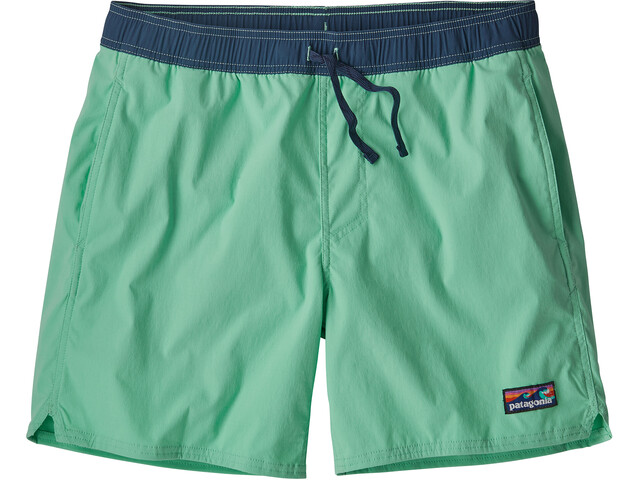 Patagonia M's Stretch Wavefarer Volley Shorts Vjosa Green